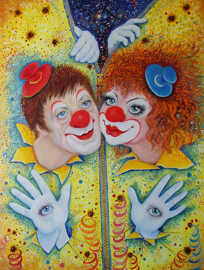 Kunstwerk >> Светлана Кисляченко Jam-Art >> Clowns Sun