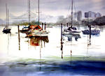 Inspirational Paintings - BRISBANE FLUSS VON EDUARD STRASSE