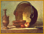 Classical Indian Art Gallery - Durch - J . B . S . Chardin - Druck
