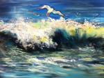 Inspirational Paintings - Surfen Gull