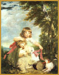 Classical Indian Art Gallery - Durch - joshua reynolds - Druck