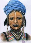 Arts And Dogs - Junger Mann Wodaabe