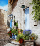 Marie-Claire Houmeau - alley fuveau in der provence
