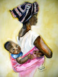 Inspirational Paintings - MALAWISCHE mutter