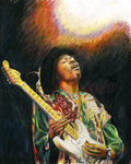 Ian Winslow Rees - jimi hendrix in spotlight