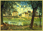 Classical Indian Art Gallery - Durch - sisley alfred - Druck
