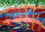 Suggestions Su - Fauvist Landschaft