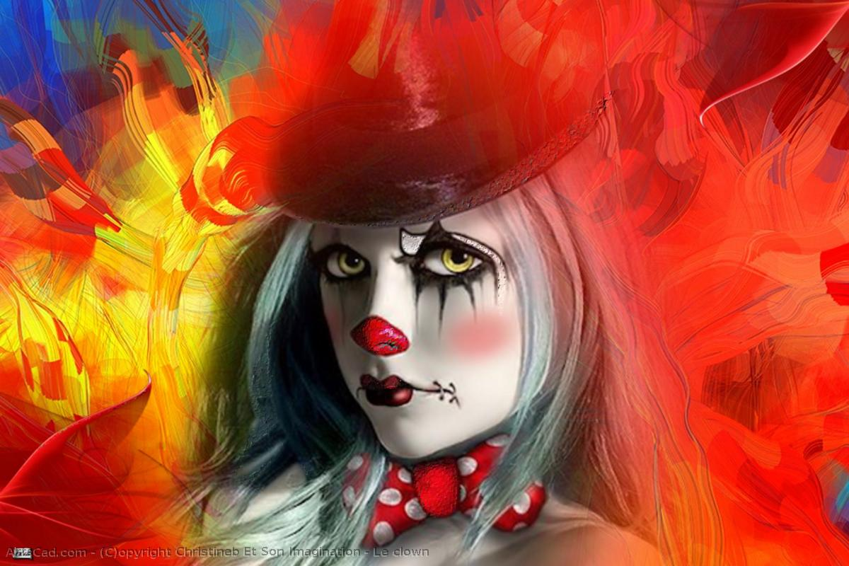 Kunstwerk >> Christineb Et Son Imagination >> der clown