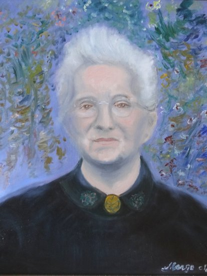 Kunstwerk >> Salaun Margo >> PORTRAIT DER GRAND MOTHER
