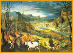 Classical Indian Art Gallery - durch -   pieter bruegel  -   druck