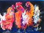 Inspirational Paintings - Hen Party