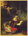 Classical Indian Art Gallery - Durch - Rembrandt - Druck