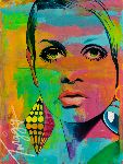 Portraits Surm Mesure - Twiggy
